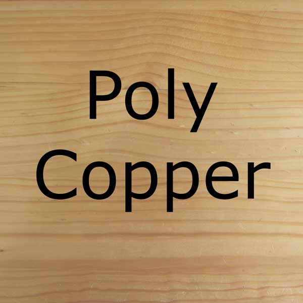 Poly copper